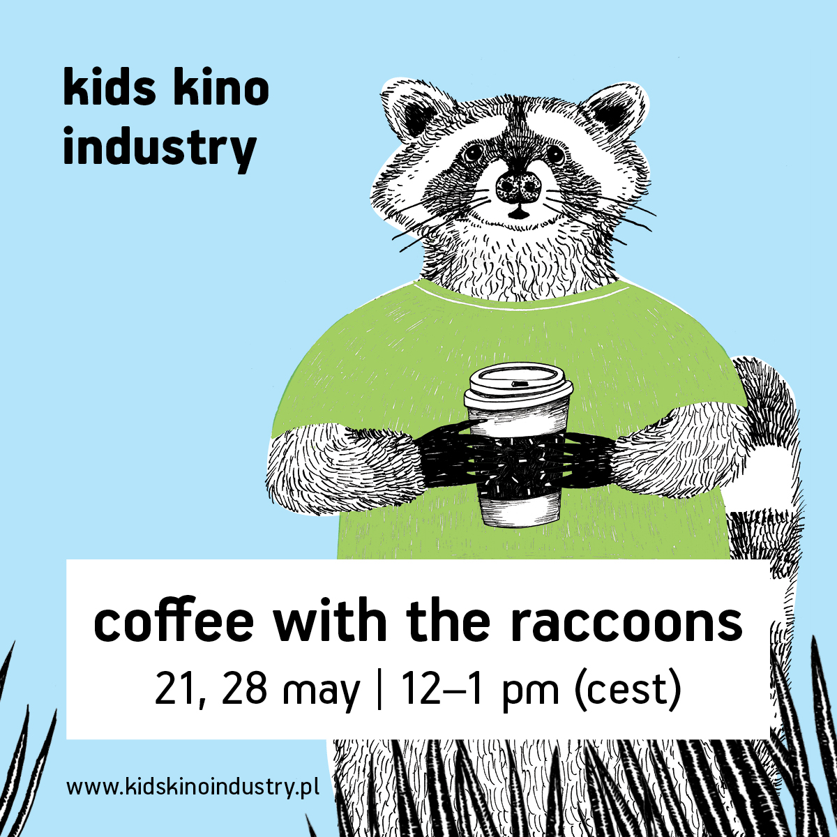 Coffee with the raccoons