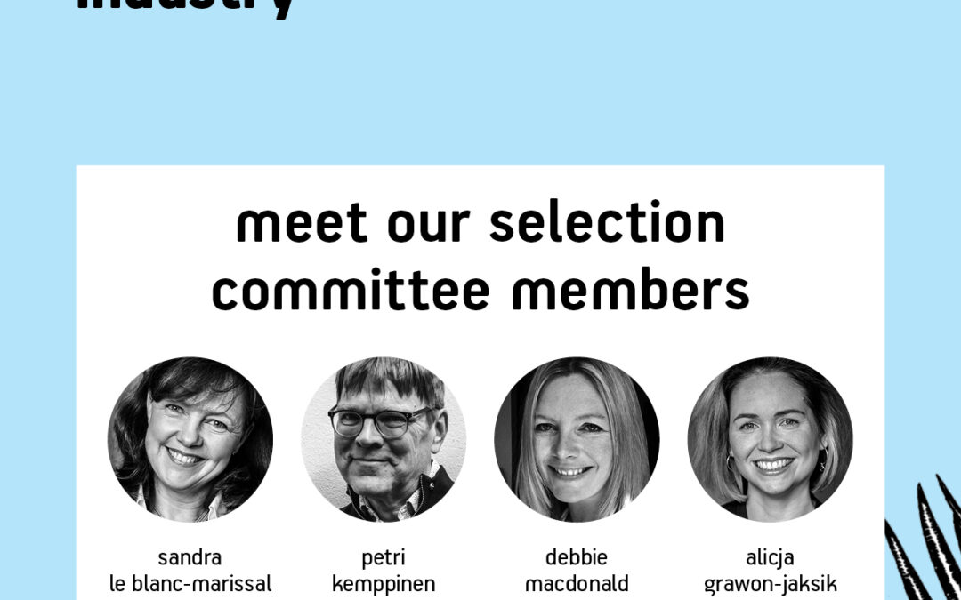 Meet our selection committee members!